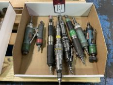 Lot of (8) Assorted Air Tools
