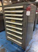 STANLEY VIDMAR 9-Drawer Modular Tool Cabinet