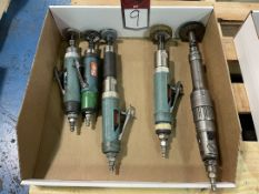 Lot of (5) Dynabrade and Chicago Pneumatic Air Finishing Tools
