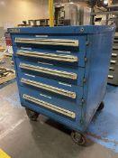 STANLEY VIDMAR 5-Drawer Rolling Modular Cabinet