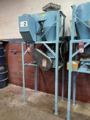 Vacuum System w/ Nelmor G810P1 Granulator, s/n 950636860