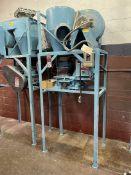 Vacuum System w/ Nelmor G810P1 Granulator, s/n 951237335