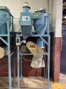 Vacuum System w/ Nelmor G810M1 Granulator, s/n 791014110