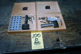LOT OF INTERCHANGEABLE STEEL STAMP SETS, CH HANSON