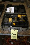 CORDLESS DRILL, DEWALT, 20 V. lithium, w/battery & charger