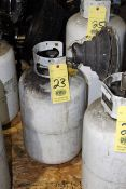 PROPANE TANK, w/bottle mount heater