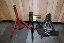 LOT OF TRIPODS (3)