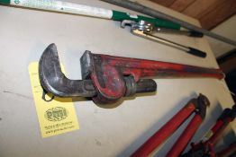 """PIPE WRENCH, 36"""""""