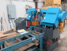 """AUTOMATIC HORIZONTAL BANDSAW, DOALL MDL. DC-280NC CONTINENTAL SERIES, new 2013, 11"""" round cap., 1-"""
