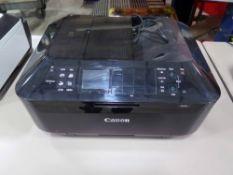 PRINTER, CANON MX922, S/N ACVX77272