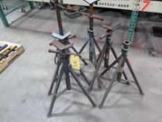 LOT OF JACK STANDS (6)