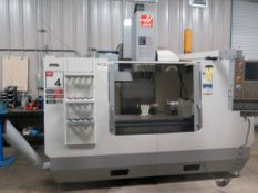 CNC VERTICAL MACHINING CENTER, HAAS MDL. VF-4B, new 2007, Haas V0P-A CNC control, 20 HP 2-spd.