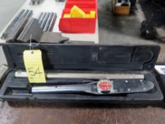 TORQUE WRENCH, SNAP-ON, 0-600 ft. lbs, in case