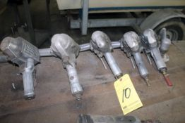 LOT OF PNEUMATIC ANGLE GRINDERS (approx. 5)
