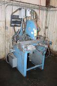 CARBIDE ABRASIVE CUT-OFF SAW, CT MACHINES MDL. M516, 2,800 blade RPM, S/N 707