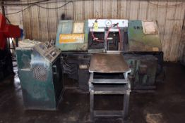 """AUTOMATIC HORIZONTAL BANDSAW, MARVEL MDL. 15A1/M8/S1, 15"""" cap., S/N E-151817-W"""