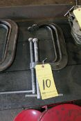 LOT OF C-CLAMPS
