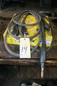 LOT OF MIG WELDING LEADS