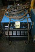 WELDING MACHINE, MILLER DELTAWELD 452, new 2014, S/N ME410119C, w/60 series Miller wire feeder, S/