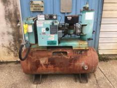 SCREW COMPRESSOR, PALTEK, 25 HP, 230/460 V. (Note: out of service)