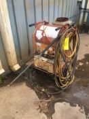 DIESEL FIRED PRESSURE WASHER, ALKOTA, electric pump