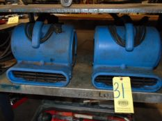 LOT OF PORTABLE ELECTRIC BLOWERS (2)