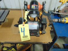 """DOUBLE END BENCH GRINDER, CENTRAL MACHINERY 6"""""""