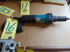 """ELECTRIC STRAIGHT GRINDER, MAKITA 1/4"""" MDL. GD0601"""