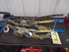 LOT OF CABLE TYPE COME ALONGS (3)