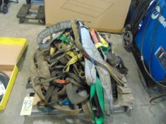 LOT OF SLINGS, assorted (on one pallet)