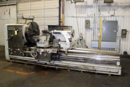 """H.D. GAP BED ENGINE LATHE, AMERICAN TURNMASTER MDL. POWER 5 50-100, new 2007, 50"""" swing over bed,"""