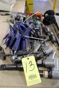 LOT CONSISTING OF: Ingersoll Rand pneumatic tools, air hammers, die grinders, impacts, etc.
