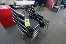 LOT CONSISTING OF STACKABLE CHAIRS, APPROXIMATLY (18)