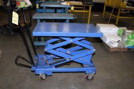 LIFT TABLE, Mdl. WS-MH-LFTB2-102, 770 lb. cap.
