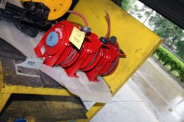 LOT OF AIR HOSE REELS: (3) Reelcraft Mdl. 2Z863 & (1) Coxreel