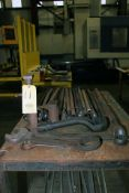 LOT CONSISTING OF: box wrenches & jacks