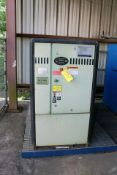 ROTARY SCREW AIR COMPRESSOR, SULLAIR MDL. 3709/A, new 2007, 50 HP motor, S/N 200708250042