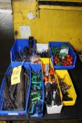 LOT CONSISTING OF: Allen wrenches, torque wrenches, Jacob chuck wrenches & Allen socket wrenches