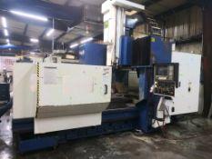 CNC GANTRY VERTICAL MACHINING CENTER, AWEA MDL. VP2012, new 1999, Fanuc Series 18M CNC control, ap