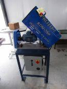 TUBE DEBURR MACHINE, PROTO-1 MDL. RDM-2009, 2 HP Weg motor (Location 2: JE King Holdings, LLC,