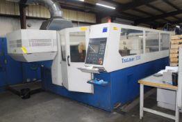 """CNC LASER, TRUMPF TRUMATIC L3030 TLF4000, Siemens CNC Controls, 5' x 10' tbl. 60"""" X-axis travel,"""