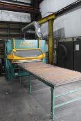 AUTOMATIC FEED THRU BRUSH DEBURRING MACHINE, FLADDER MDL. 300/GYRO – 1300VAC, new 2010, FLADDER 300