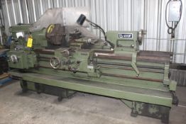 """ENGINE LATHE, LODGE & SHIPLEY MDL. AVS2013, new 1981, 20-1/2"""" over carriage, 13-1/2"""" over crosslide,"""