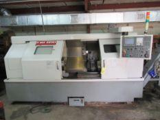 "CNC LATHE, YAMA SEIKI MDL. GA-3600L, new 2006, Fanuc Oi-TC CNC control, 23.6"" swing, 19.7"" max."