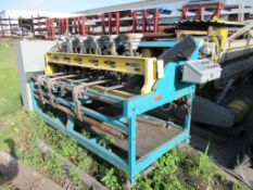 CNC POWER PINNER, GRIP NAIL MDL. 7G23P.P.50, G.E. Fanuc CNC control (Location 7: McCorvey Industrial