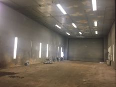 PAINT BOOTH, 45' W x 100' L x 20' H (Location 6: Tri-R-Erecting, 6510 Bourgeois Road, Houston, TX 7