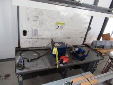 HOSE FLASH CUTTER STATION, EWALD FLASH CUTTER SS48CS/5 TUBE, Olympia 1410 wire length meter, 1 HP