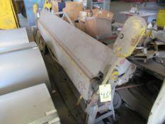 BOX & PAN BRAKE, CHICAGO, MDL. 818, 8' x 18 ga, S/N 96819 (Location 7: McCorvey Industrial