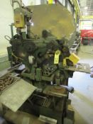 """MECHANICAL IRONWORKER, WEBB NO. 4, Punch 1"""" hole in 1'2"""", 3/8"""" x 6"""" shear, 1-1/2"""" sq., S/N 57-S-1"""
