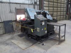 """AUTOMATIC HORIZONTAL BANDSAW, MARVEL SPARTAN MDL. PA13/3, new 2007, 13"""" round cap., 1-1/4"""" blade"""